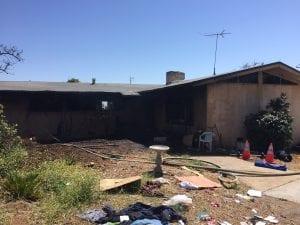 2 Alarm Structure Fire In Escondido