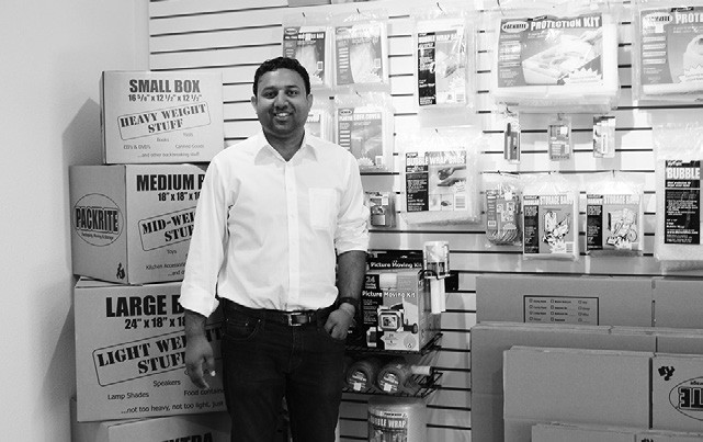 Neil Kadakia Owner Manager Of Valley Center Self Storage Which Has A Complete